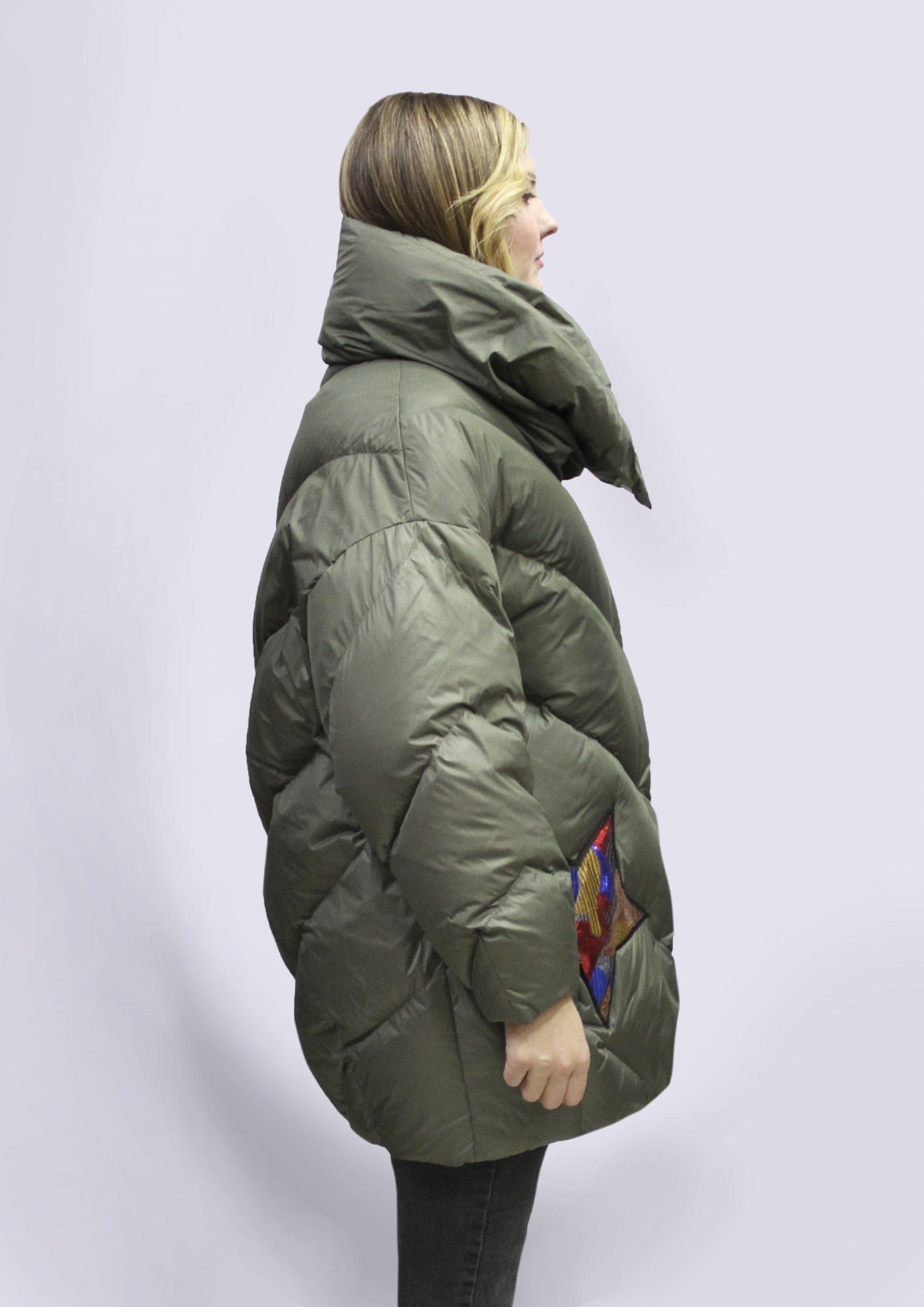 Женская зимняя куртка (Forest)