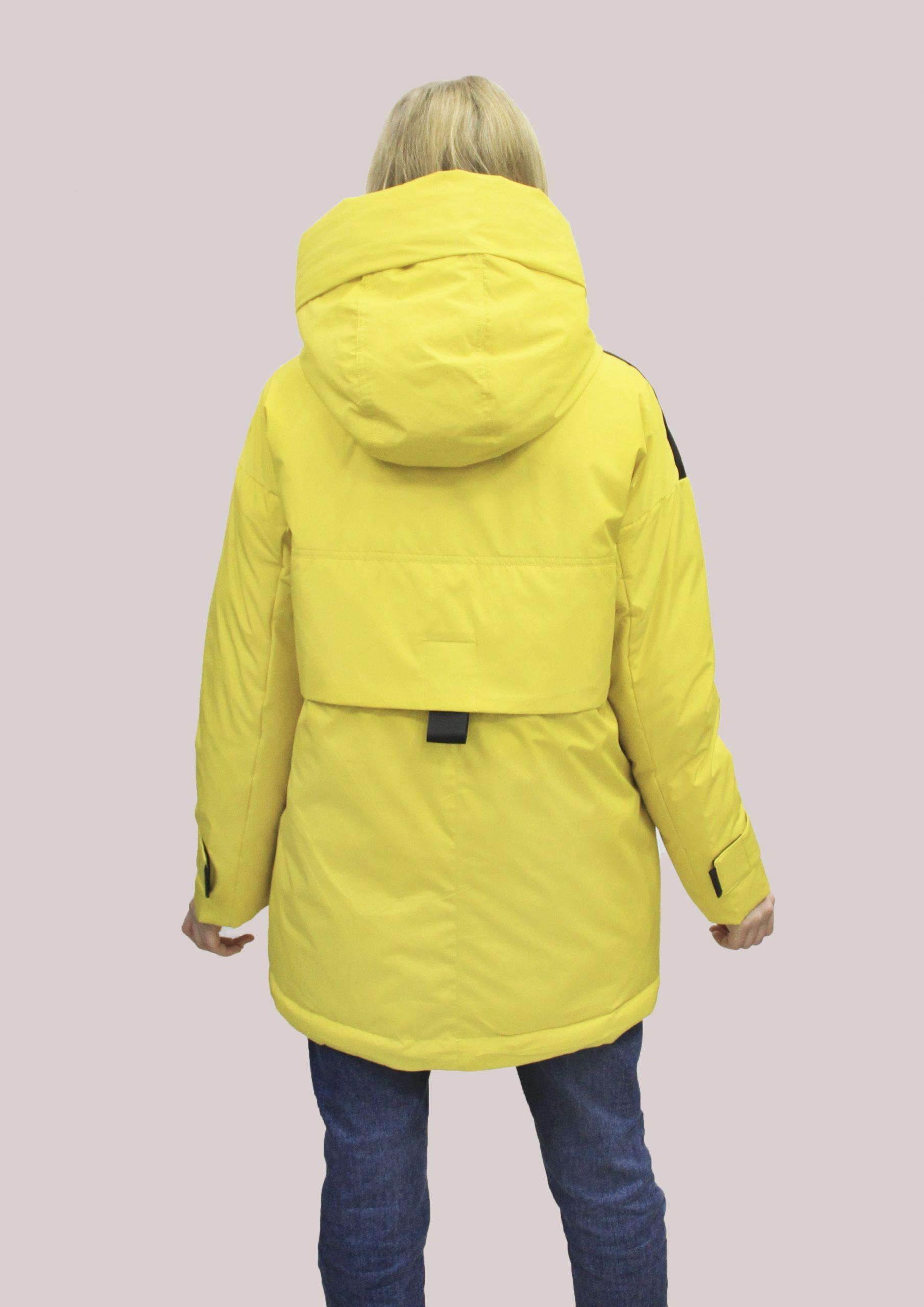 Женская зимняя куртка (Vteple 9201))
